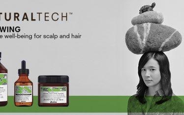 Davines Naturaltech Renewing hajápoló termékcsalád az OPEN Hair & Beauty szépségszalonban