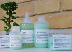 Davines Melu hajápoló termékcsalád az OPEN Hair & Beauty szépségszalonban