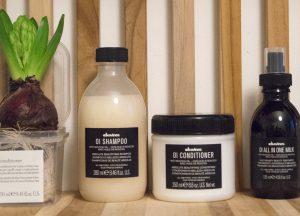 Davines OI hajápoló termékcsalád az OPEN Hair & Beauty szépségszalonban